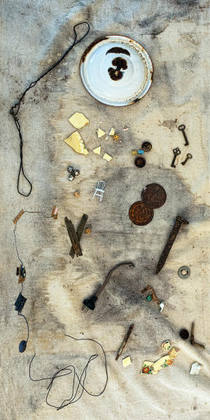 Relics--Assemblage-found objects