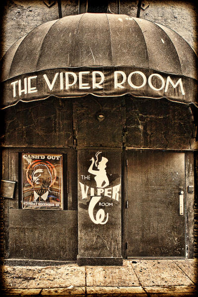 The Viper Room, Sunset Boulevard