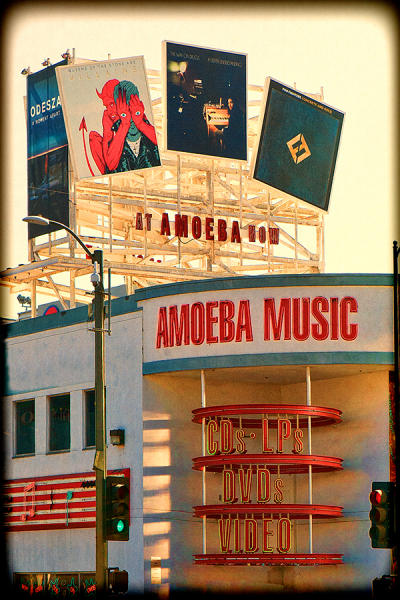 Amoeba Music, Sunset Boulevard
