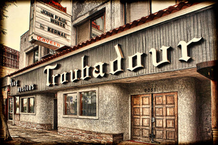 The Troubadour, Santa Monica Boulevard
