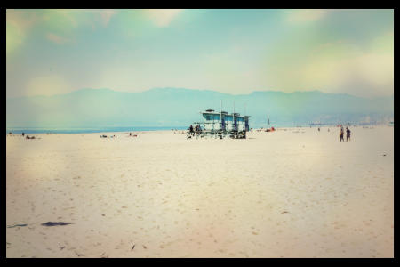 On a Winters Day, Venice Beach #2